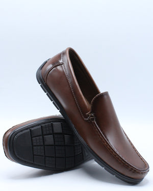 Men's Driving Moc Shoe - Brown