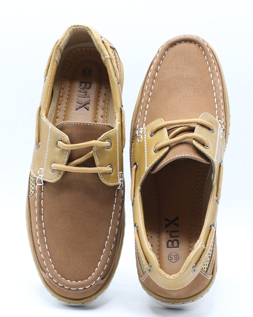 Mens Conley Lace Shoe - Tan