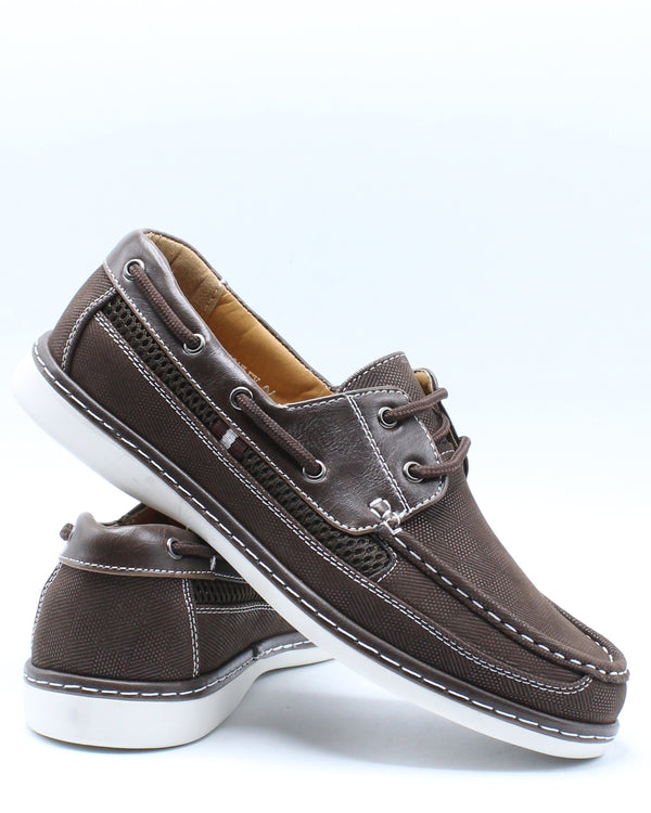 Men's Conley Lace Shoe - Brown-VIM.COM