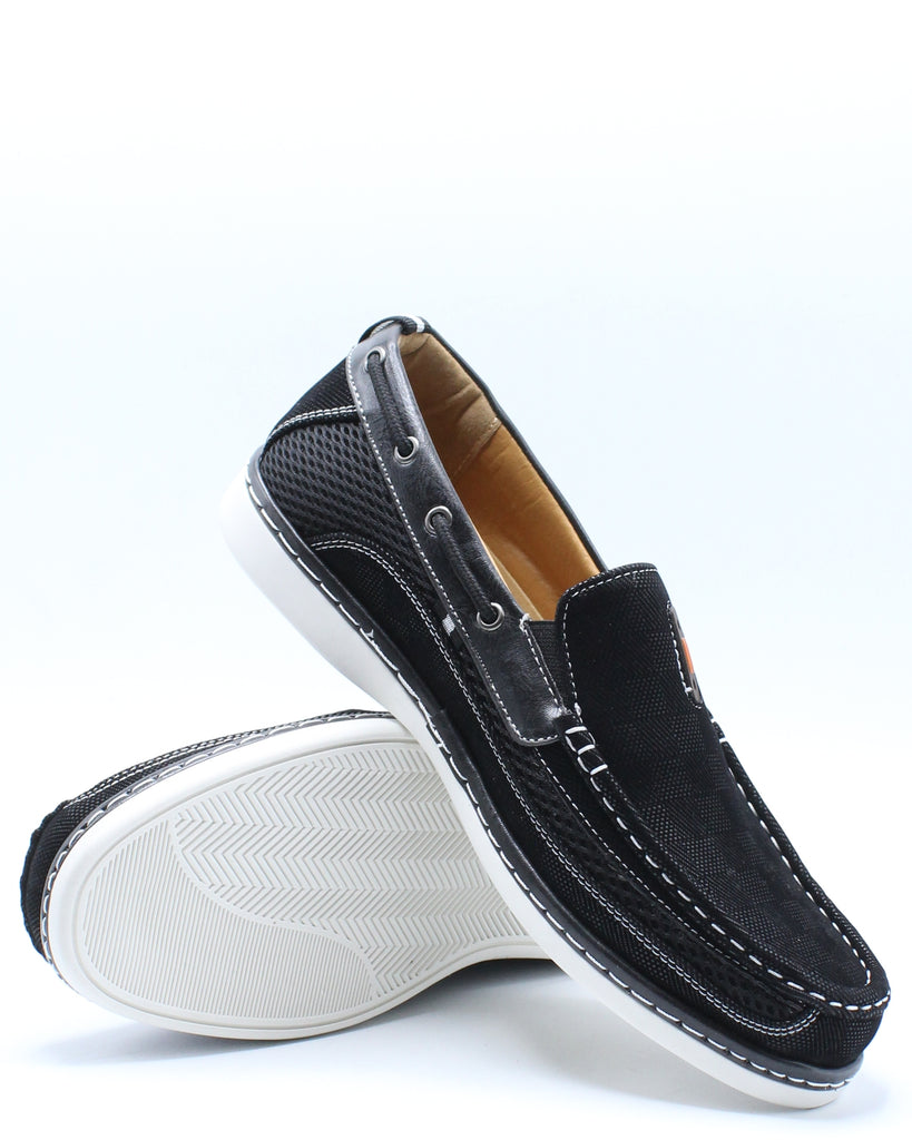 Mens Conley Slip On Shoe - Black