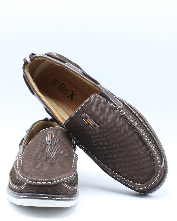 Men's Conley Slip On Shoe - Brown