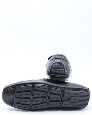 Men's Simpson Weave Drive Shoe - Black