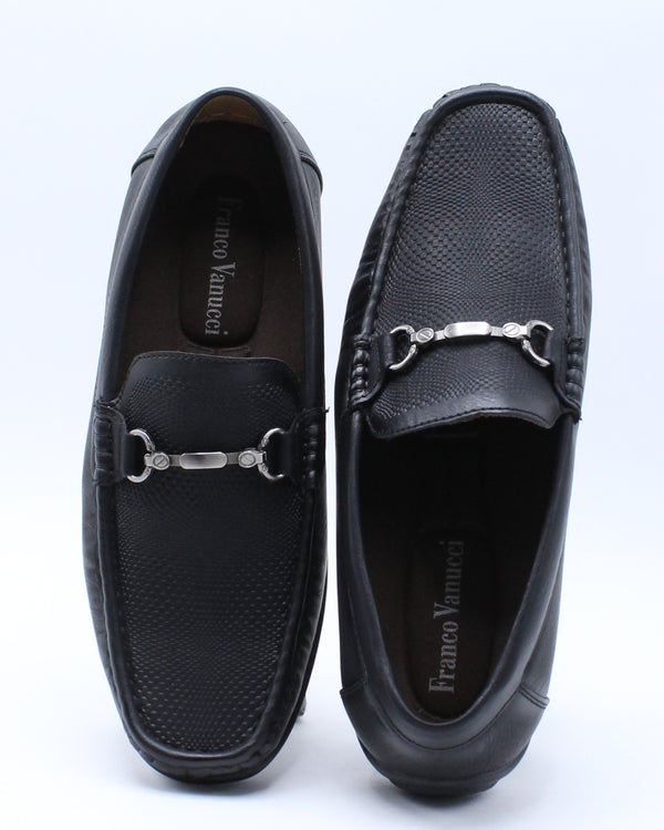 Men's Buckle Drive Shoe - Black