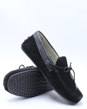 Men's Tobby Suede Le Shoe - Black