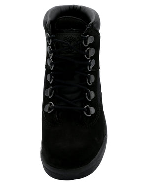 TIMBERLAND 6-Inch Field Boot (Pre School) - Black - Vim.com