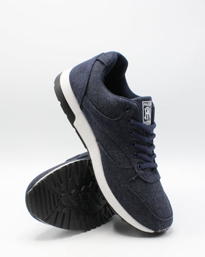 PARISH NATION Men'S Denim Jogging Sneaker - Blue - Vim.com