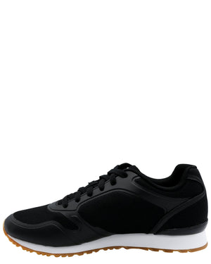 FILA Men'S Forerunner 18 Sneaker - Black Red - Vim.com