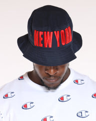VIM New York Bucket Hat - Navy - Vim.com