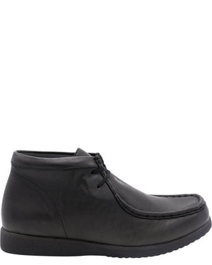 Hush Puppies Boys' Bridgeport Original Boots (Grade School) - Black - Vim.com