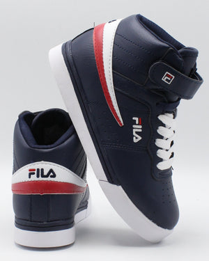 FILA-Vulc 13 Mp Sneaker (Pre School) - Navy White Red-VIM.COM