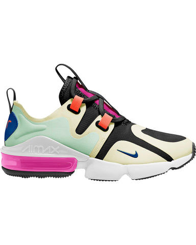Womens Nike Air Max  Infinity Sneaker - Black Blue