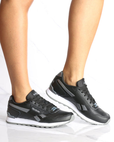 REEBOK-Women's Classic Harman Run Sneaker - Black-VIM.COM