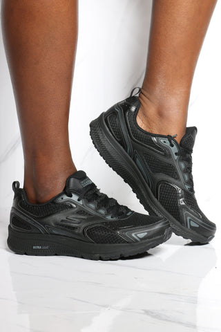 SKECHERS-Women's Go Run Consistent Sneaker - Black-VIM.COM