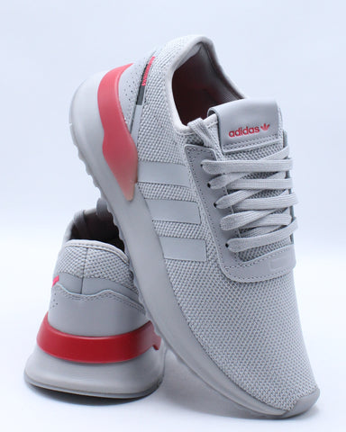 ADIDAS-Women's U Path X W Shoe - Grey Red-VIM.COM