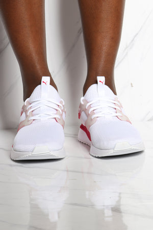 Women's Pacer  Next Excel Hombre Women Sneaker - White Rose