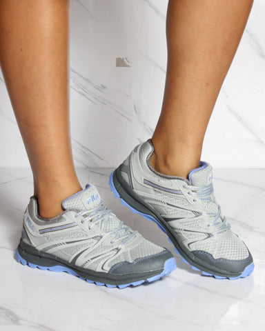 FILA-Women's Fila Northampton Sneaker - Grey Light Blue-VIM.COM