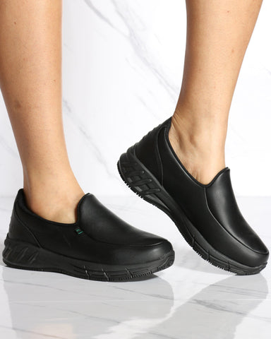 Women's Florida Slip On Shoe - Black
