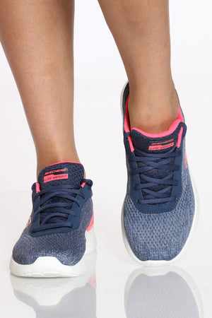 Women's Sketch Air Dynamight Shoe - Blue Coral