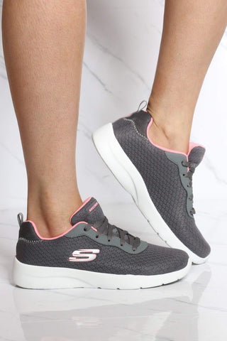 SKECHERS-Women's Dynamight 2.0 Eye 2 Eye Sneaker - Grey-VIM.COM