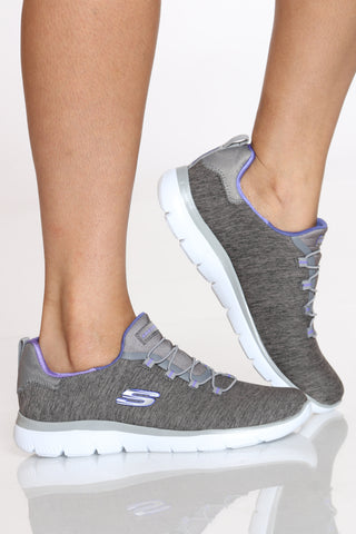 Women's Summits Quick Getaway Sneaker - Grey