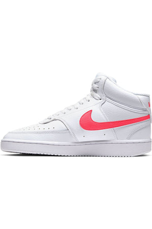 Women's Nikecourt Vision Mid Shoe - White Red