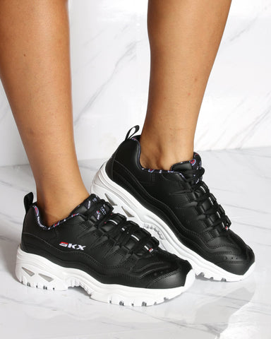 SKECHERS-Women's Skechers Energy Sneaker - Black-VIM.COM