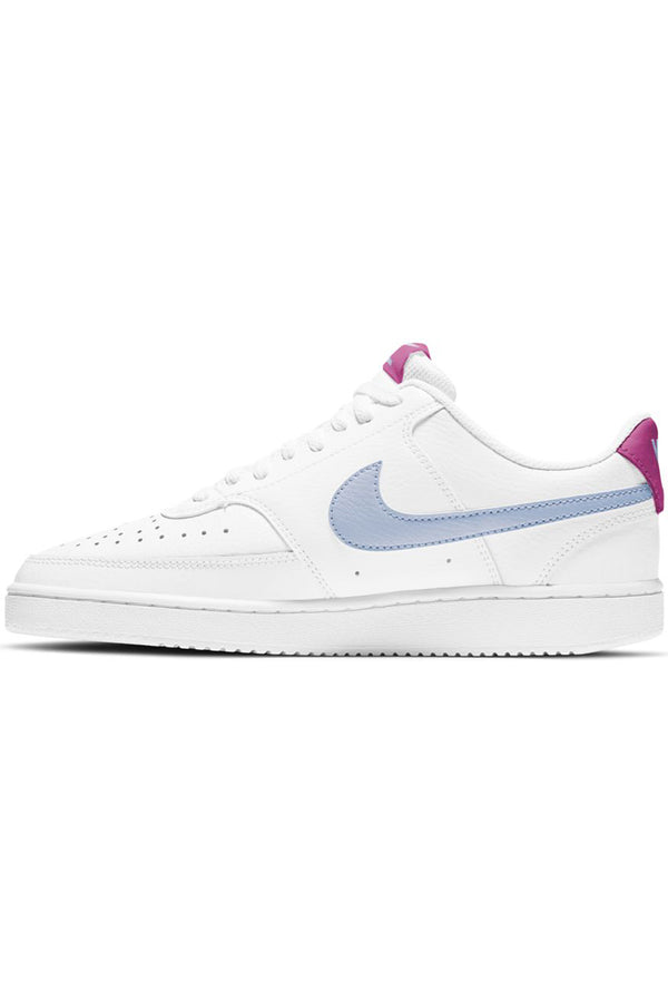 Women's Court Vision Low Shoe  - White Blue