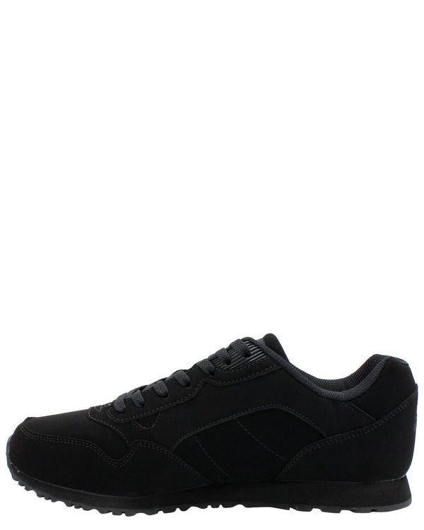 FILA Men'S Cress Low-Top Sneaker- Black - Vim.com
