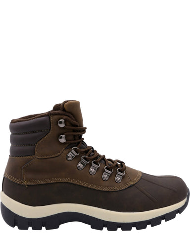 VIM Men'S Hiker Boots - Brown - Vim.com