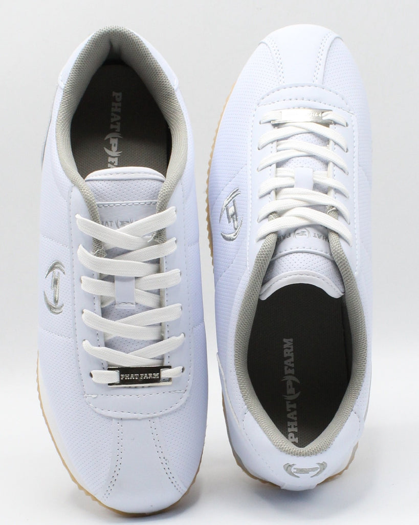 PHAT ATHLETIC Men'S Toluca Sneaker - White - Vim.com