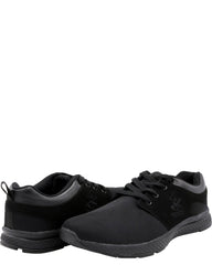 BEVERLY HILLS POLO CLUB Men'S Mesh Nubuck Upper Sneakers - Black - Vim.com