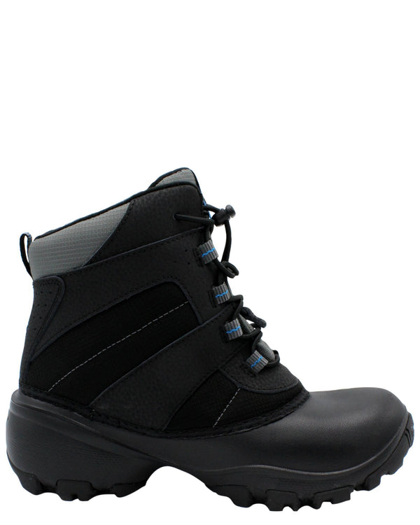 Columbia Rope Tow Iii Waterproof Boots (Grade School) - Black - Vim.com