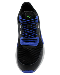 PUMA Men'S Future Runner Premium Sneaker - Black - Vim.com