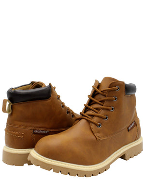 AKADEMIKS Polar 02 Boot (Pre School) - Brown - Vim.com