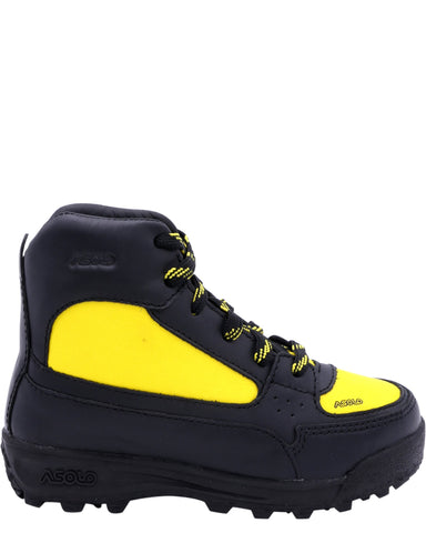 ASOLO Boys' Skyrise Hiker Boots (Toddlers) - Black Yellow - Vim.com