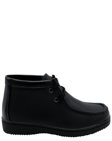 VIM Boy'S Mid Cut Walli Hush Boot (Pre School) - Black - Vim.com
