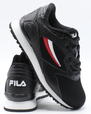FILA-Classico 19 Sneaker (Pre School) - Black Red White-VIM.COM