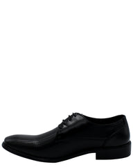 VIM Men'S Lace Up Woven Shoe - Black - Vim.com