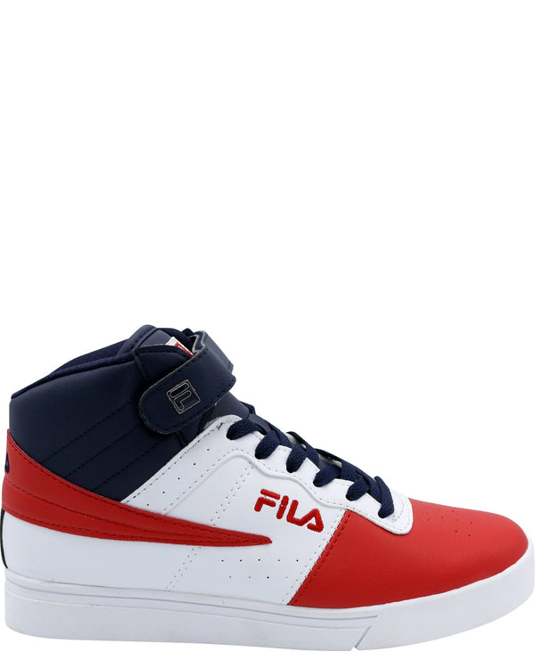FILA-Men's Vulc 13 Mp Sneaker - White Navy Red-VIM.COM