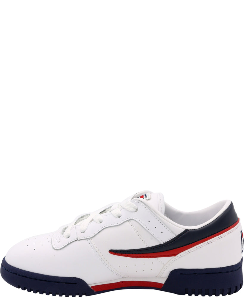 FILA Original Fitness Sneaker (Grade School) - White Navy Red - Vim.com