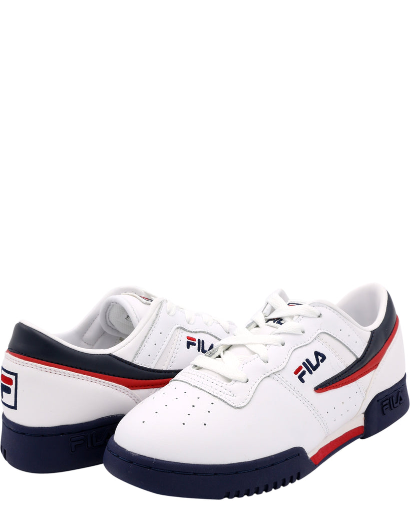 Fila - Boy's Original Fitness Lo Sneakers (Grade School) - V.I.M. - 4