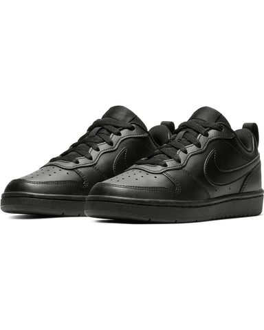 NIKE-Court Borough Low 2 Sneaker (Grade School) - Black-VIM.COM