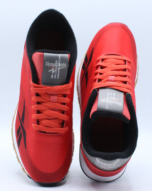 Classic Leather Ati Sneaker (Grade School) - Red