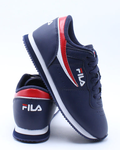 FILA-Kid's Machu Shoe (Grade School) - Blue-VIM.COM