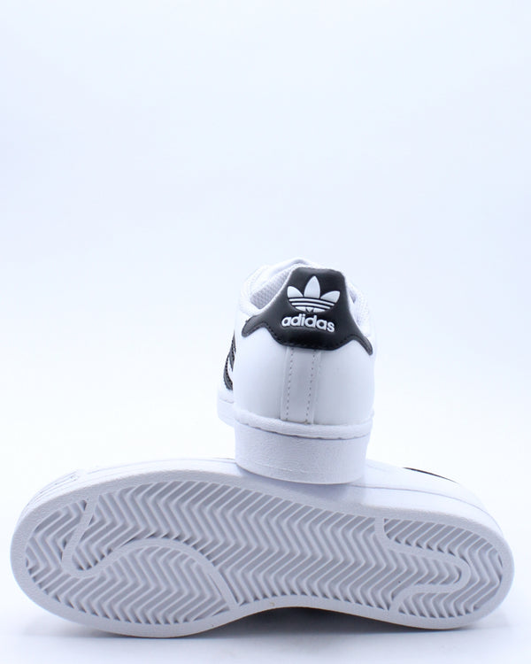 Kid's Superstar J Sneaker - White Black