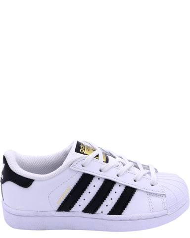 ADIDAS-Superstar Sneaker - White Black-VIM.COM