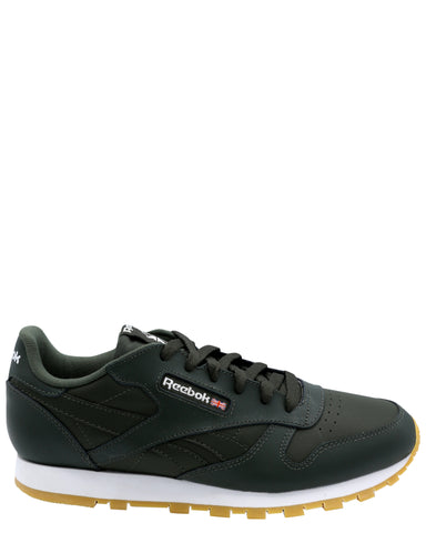 Classic Leather Sneaker(Grade School)