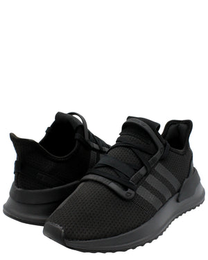 ADIDAS-U Path Run J Sneaker (Grade School) - Black-VIM.COM