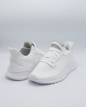 U  Path Run Sneaker (Grade School) - White