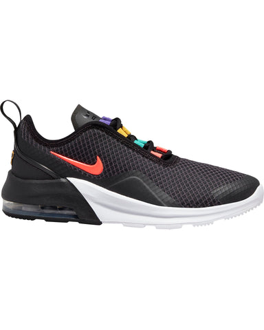NIKE-Air Max Motion 2 Sneaker (Grade School) - Black Crimson-VIM.COM